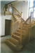 A feature staircase handmade by craftsmen in English Oak, featuring barley sugar twist balusters in the design. Gallery Thumbnail