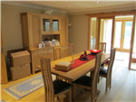 A lovely dining room opening into both the lounge and home study, all with feature bamboo flooring! Gallery Thumbnail