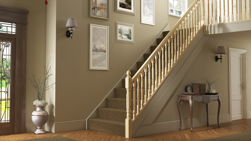 Pine Fluted Rolling Pin Timber Stair Parts Gallery Image