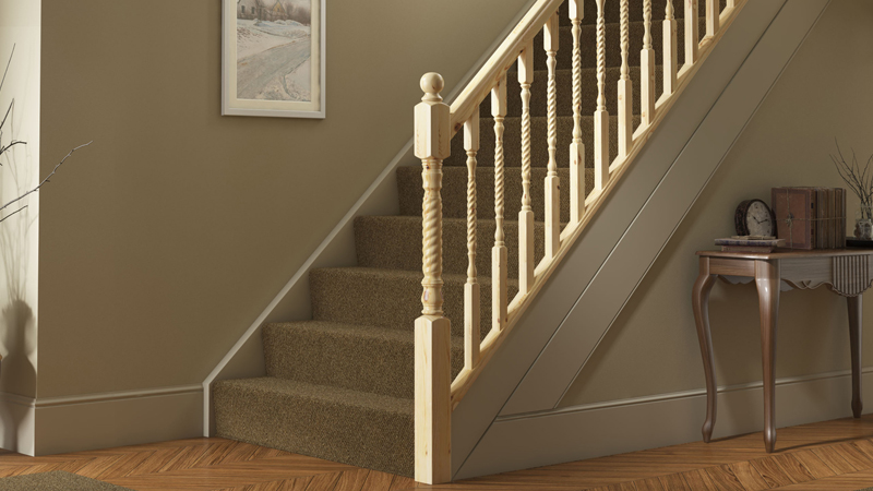 Barley Twist Timber Stair Parts Gallery Image