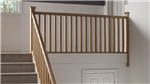 Plain Square Timber Stair Parts Gallery Thumbnail