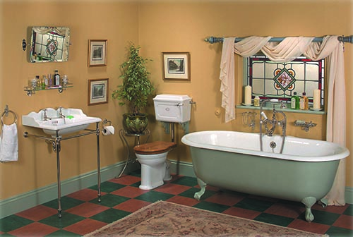 Supplier of 'Thomas Crapper' authentic period style bathrooms Gallery Image