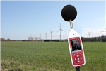 The Optimus+ Green sound level meter, perfectly suited to monitoring wind farm noise. Gallery Thumbnail