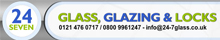 24 7 glass glazing & locks