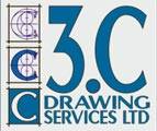 3C Drawing Services Ltd Logo