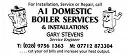 A1 Domestic Boiler Services & Installations