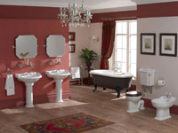 old fashioned bathrooms - bathroom equipment | construction.co.uk