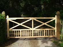 Sandalwood Gates Amp Timber Products York Timber Gate