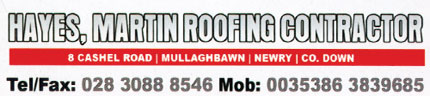 Martin Hayes Roofing Contractor Image
