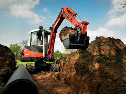 Kubota (UK) Ltd – Construction  Equipment Division Image