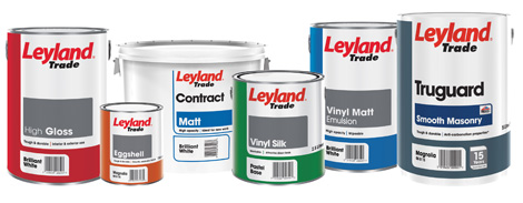 Leyland Paint Co King 39 S Lynn Painting And Decorating Supplies