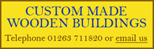 Custom Made Wooden Buildings