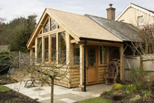 Oak A Framing Blandford Forum Timber Framed Homes