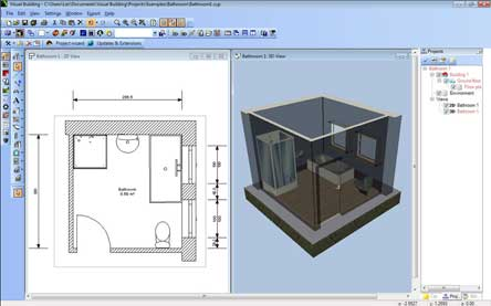 Design cad 3d visualisation 3d architect kitchen design bathroom