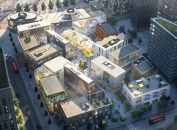 Design District Is A Cluster Of 16 Commercial Buildings