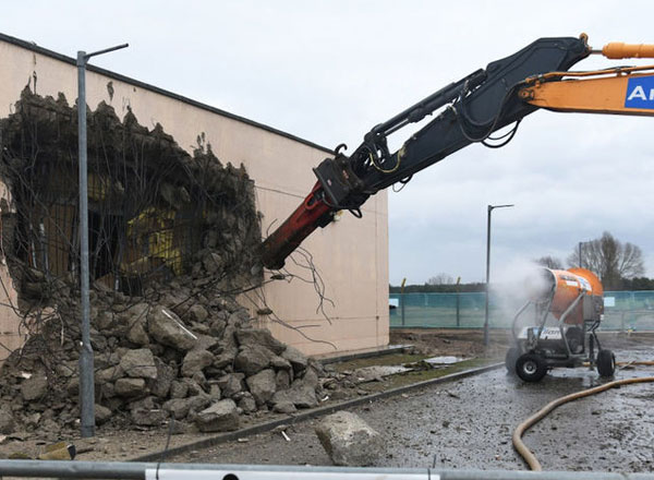 18 Buildings Are Being Demolished