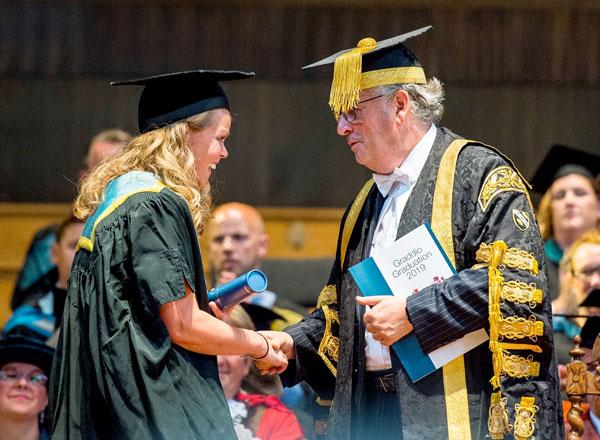 Sarah Beale Received An Honorary Fellowship