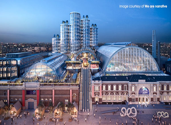To Deliver The New London Olympia