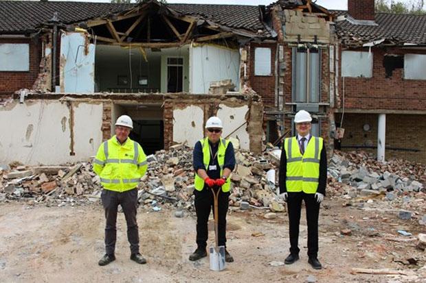 Firm Marks Formal Start Of Elfreda House Project