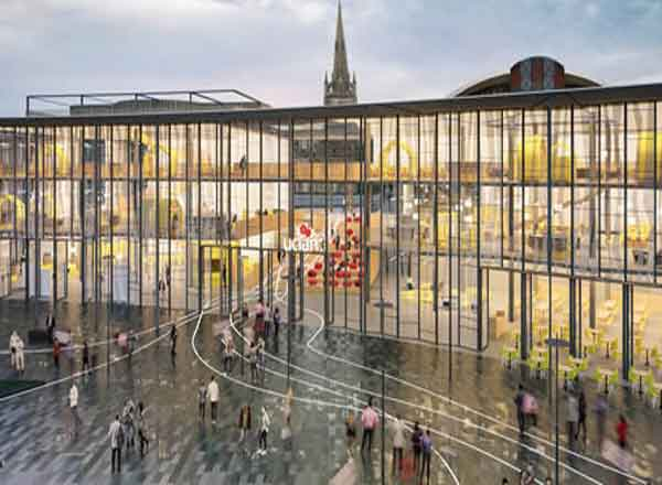 Hawkins Brown Wins 163 60m Uclan Design Competition Uk
