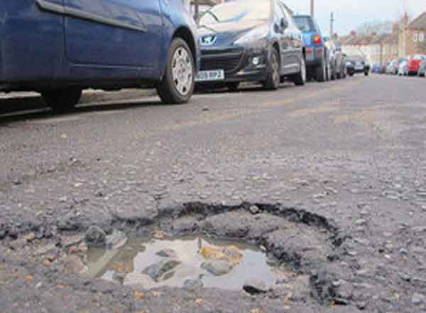 £46m Allocated To Help Repair One Million Potholes