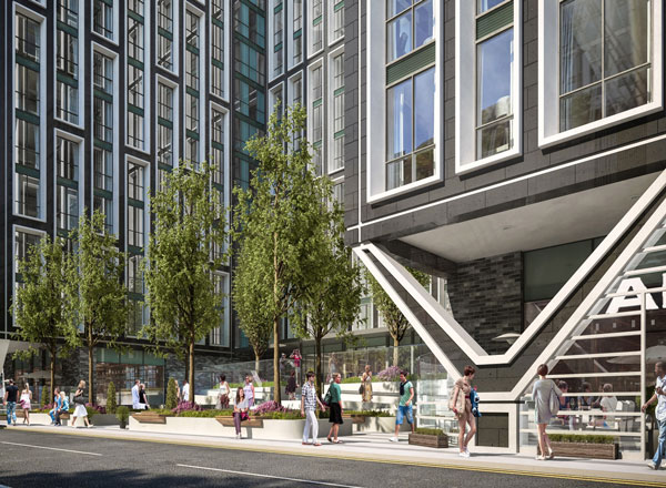 Graham Construction To Deliver 16-Storey Waterfront Scheme
