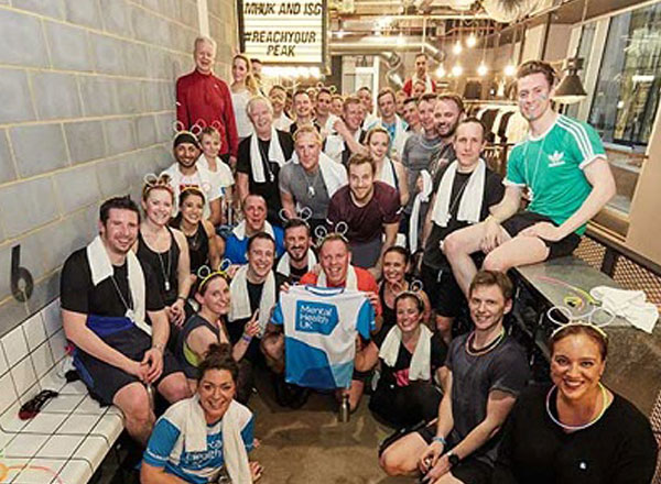 Spin For Charity To Raise Funds For Mental Health UK